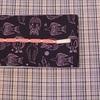 片貝木綿と半巾帯の組み合わせ