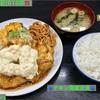 🚩外食日記(619)    宮崎ランチ   「竜宮ラーメン」⑨より、【チキン南蛮定食】‼️