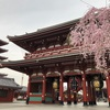 朝の浅草寺界隈