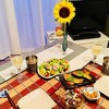 自分のために花を買い、自分のためにお料理をする イタリアンの夕べ