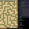 pythonによる迷路の自動探索 手当たり次第編!