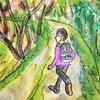 二度目の中山道歩き28日目の4(武佐宿から間の宿鏡の里への道)