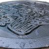 小さなマンホール 公共汚水桝のフタを塗装する! 長岡市はこんな模様をしているよ!