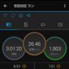 久々のLSD3時間からの15km走