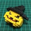 プチブロックで作るハロウィン用ジャックオーランタン  と、そのつくりかた