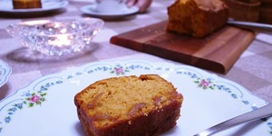 【いがらしろみさん】キャラメルりんごのパウンドケーキを作ってみました!これが驚きの結果に。