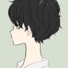 【フリーイラスト素材】黒髪ショートパーマの女の子