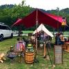 キャンプレポ:グリーンウッド関ヶ原(2017年6月)