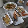 幸運な病のレシピ( 1895 )朝:鮭、ヒラメ焼きびたし、手羽先焼き、ウインナ、豚丼、味噌汁