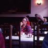 カフェの女性。チェコスロバキア「プラハ」