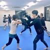 キックボクシング クラス!!