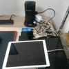 PCのデスク周りの便利アイテムで配線などを整理してみた