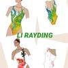 🇨🇳シンクロ衣装@北京オリンピック