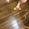 【偏食】ナゲット、ポテトを投げる