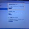 アップグレードしたWindows 10を初期状態に戻してみました。