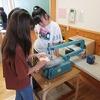 6年生:図工 テープカッター制作開始