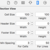 Swiftで画像アプリ(その5)〜セル間隔調整、サムネ画像表示