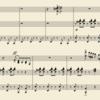 エヴァンゲリオン・ピアノフォルテのDecisive battle(ピアノソロ)採譜中の巻