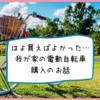 やっと購入!子供乗せ電動自転車買ったら年子姉妹と出かけるのが楽しくなった話