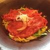 「ちゃかぽん」で近江牛肉うどんを食す。