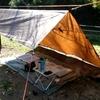 DD Trap購入!タープ設営とロープワークを練習するデイキャンプ!