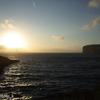 世界で呑んだくれ〜マルタ、絶壁に映る夕陽