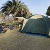 周防大島でオートキャンプ