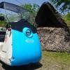 半年ぶりにチームシェルパに行ってみた、その2では小型電気自動車に乗ってみた。