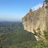 鋸山ハイキングで岩壁から地獄をのぞく