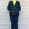 今日の服|テーラードジャケットとアノラックで、トラッド&アイビーにアウトドアMIXなコーディネート