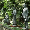金沢・まちなか彫刻「金沢の三文豪」