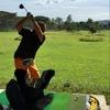 ダバオのゴルフ練習場は開放的
