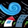 台風の進路相談