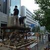 前祭・山鉾建て