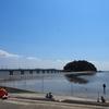 蒲郡にあるスーパーサンヨネに行って、トンビを警戒しながら海辺でランチしてきました。