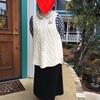 編み編みクラブと今日のファッション
