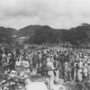 1945年7月14日、戦場になり、世間御万人の袖を涙でぬらし - 屋嘉収容所