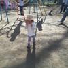 公園で知らない子とも遊んでる