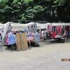 イベリア周遊の旅(32)町の青空市場を覗いて、領主の館に帰館。