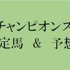 チャンピオンズカップ 2017 出走予定馬と予想オッズ 【競馬予想の桃さん】