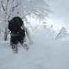 たっぷりの春の雪は八海山からのプレゼント♪