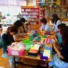 学校図書館ボランティアさんの活動