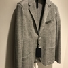 「Harris Wharf London」  Linen Herringbone 2B~松屋銀座~