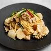 ふきのとう味噌とカブの鶏ボロネーゼパスタのレシピ