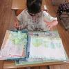 1年生:図工「やぶいたかたちからうまれたよ」
