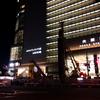 ★夜の大阪駅中央口前