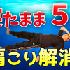 【ズボラ整体】寝たまま5分で肩こり解消!ストレッチ・セット(安眠効果も◎)