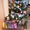 我が家のクリスマスバージョン開始。