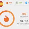 Duolingoで700日以上継続してる話とか