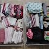 スーツケースは立派な収納場所!おさがり&増えた子供衣類を整頓